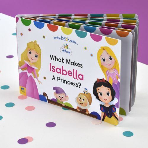 Personalised Disney What Makes me a Princess Board Book